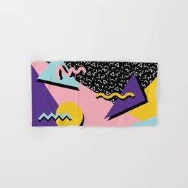 Memphis Pattern 23 - 80s Retro - Pastel Colors Hand & Bath Towel