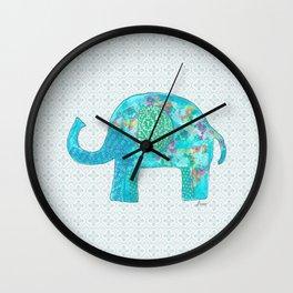 ElliePhant Wall Clock