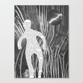 Media Landscape Walkers 1 Canvas Print