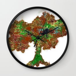Oak NoProblem 2 Wall Clock