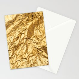 Gold foil Stationery Cards