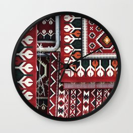Arabic Woven Carpets Wall Clock