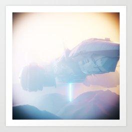 SPACE FOG Art Print