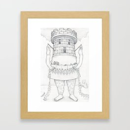 Exquisite Corpse #18 Framed Art Print