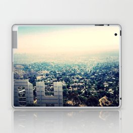 From over the Hollywood Sign Laptop & iPad Skin