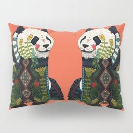 panda orange Pillow Sham