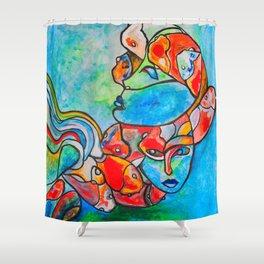 Water Souls #society6 #decor #buyart Shower Curtain