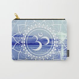 Om Mandala : Blue Waters Carry-All Pouch