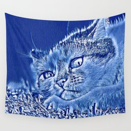 AnimalMix Cat 003 Wall Tapestry