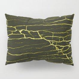 Stone yellow black Pillow Sham