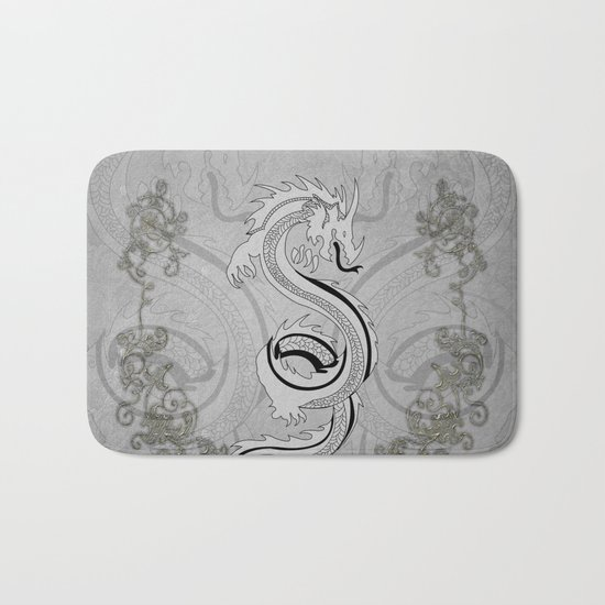 Chinese dragon Bath Mat