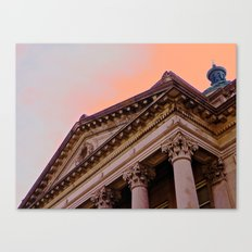 Courthouse Morning Canvas Print