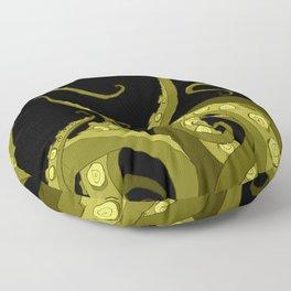 Subterranean - Green Tentacle Floor Pillow