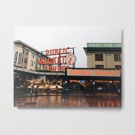 Public Market Metal Print