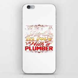 In love with Plumber iPhone Skin