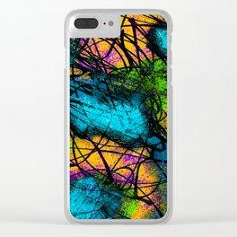 Dizzy Clear iPhone Case