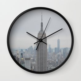 Dreamy NYC Wall Clock