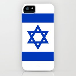 Israel Flag - High Quality image iPhone Case