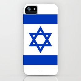 Israeli Flag of Israel iPhone Case