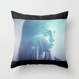 Anger At The Stars Throw Pillow