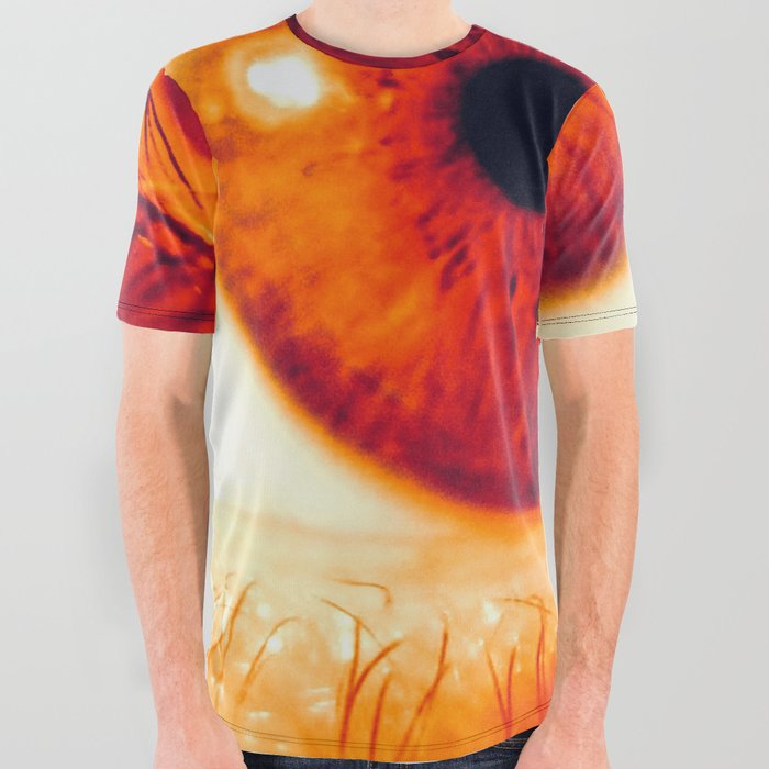 Move It Away (Eye) All Over Graphic Tee