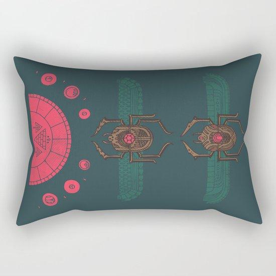 Scarabs Rectangular Pillow