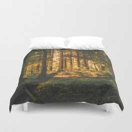 Mixed Forest Duvet Cover