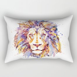 Lion Head Rectangular Pillow