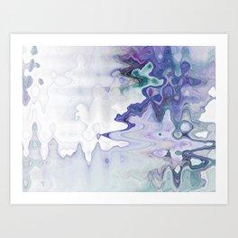 Fluid Waves Art Print
