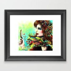 VICTIM Framed Art Print