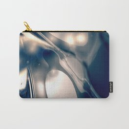 Metal Silverleaf Carry-All Pouch