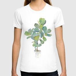 Fiddle Leaf Fig Tree T-shirt