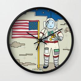 Moon Astronaut 1969 Wall Clock
