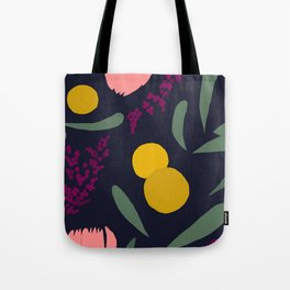 Abtract Garden by Night Tote Bag