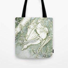 Chaudeleau the Green Marsh Dragon Tote Bag