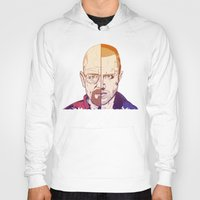 breaking bad Hoodies featuring Breaking Bad by Connick Illustrations