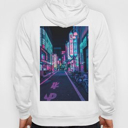 A Neon Wonderland called Tokyo Hoody