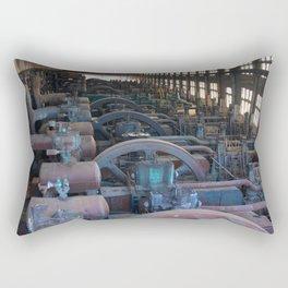 Bethlehem Steel Engine House, in color Rectangular Pillow