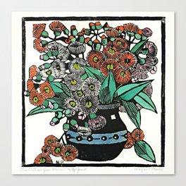 """Australian Gum Blossoms"" by Margaret Preston Canvas Print"