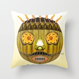 Bottlehead #2 Throw Pillow