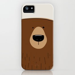 Silly Bear iPhone Case