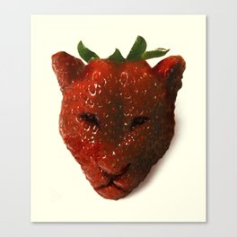 Strawrberry Canvas Print