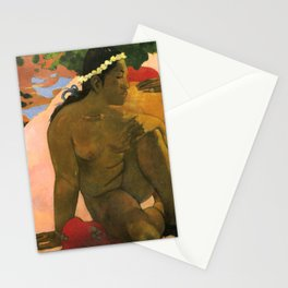 "Paul Gauguin ""Aha Oe Feii? (Eh quoi! Tu es jaloux?)"" Stationery Cards"