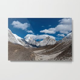 In the depth of the valley Metal Print