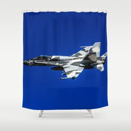 Hornet Splinter Shower Curtain