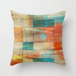 MidMod Art 5.0 Graffiti Throw Pillow