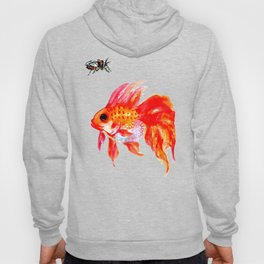 Goldfish and Cicada Hoody