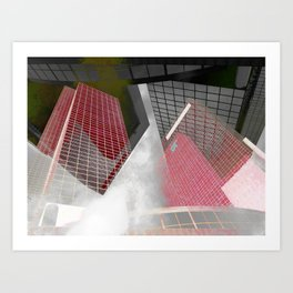 The NN-Building (Rotterdam) 8 Art Print