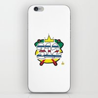 blackhawks iPhone & iPod Skins featuring Chicago Pride Blackhawks by TyRex Creations