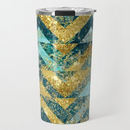 Marble Glitz Travel Mug
